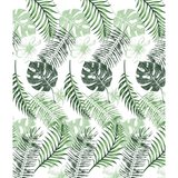 Euroshowers Design Duschvorhang Leaf Mix, 180 x 200 cm,...