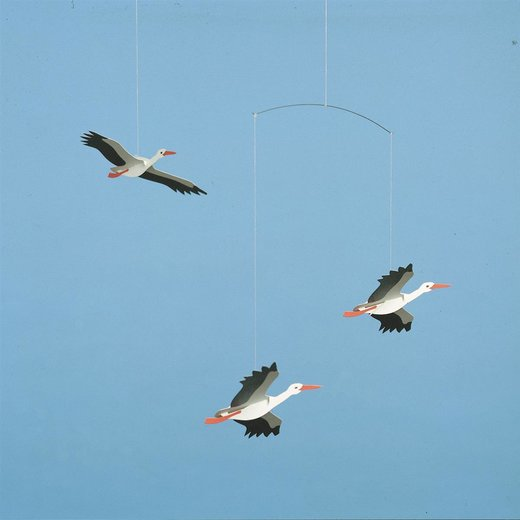 Flensted Mobiles Lucky Storks